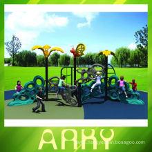 Children's outdoor dual color climbing