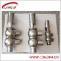 Válvula de inversión neumática Wenzhou Sanitary Ss304