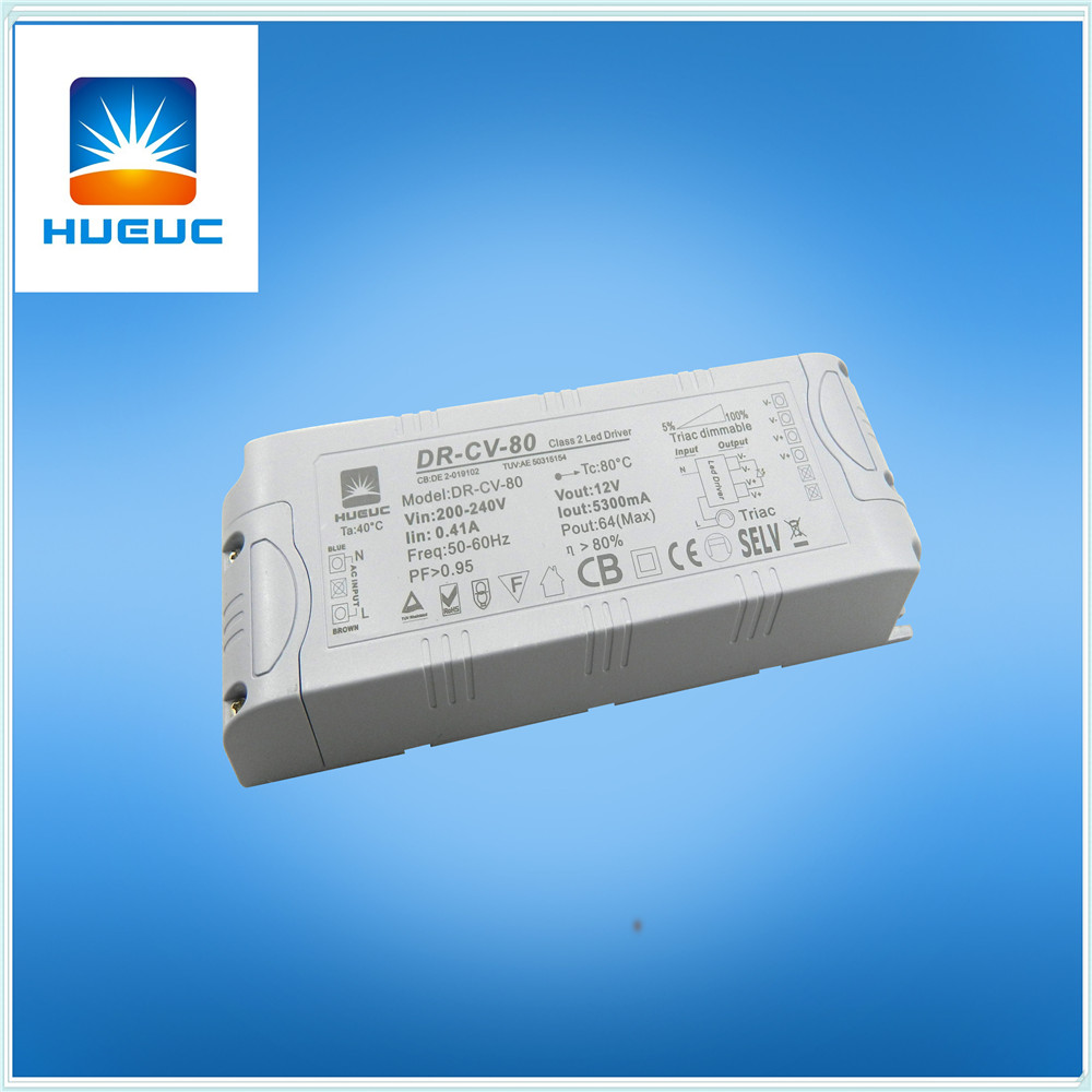 80w Triac Dimmable Led Driver