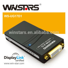 USB2.0 to DVI Adapter.USB2.0 Graphic Adapter.usb 2.0 to vga adapter