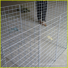 2016 hot sale 50*50mm Welded Gabion Mesh/stone cage for retaining wall china supplier