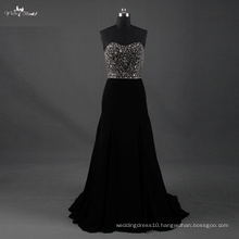 LZF003 Alibaba Sweetheart Hot Sale A Line Wedding Dress Heavy Beading Evening Dresses 2017