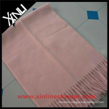 Light Pink Pure Mongolian Cashmere Scarf