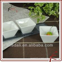 Фарфоровая закуска и сервировочная тарелка