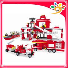 774pcs Набор блоков игрушечных блоков для пожаротушения