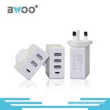 Chargeur multifonction portable pour UK / EU / Us Plugs
