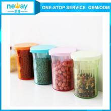 News Vacuum Plastic Storage Jar with Pump