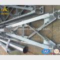 Subestación de acero de la línea de transmisión