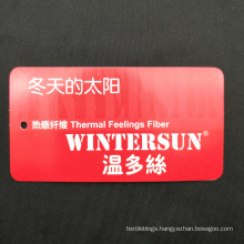 Wintersun thermal feeling fabric for t-shirt sportswear