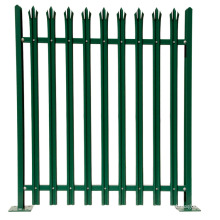 New Design tubular steel fence aluminium palisade fence