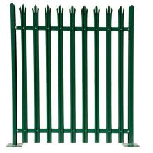PVC palisade garden fence/vinyl lawn edging palisade fence