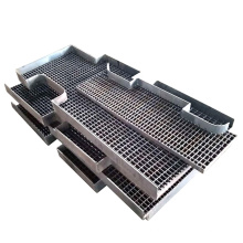 Заводская решетка из оцинкованной стали с фиксацией давления для проекта платформы