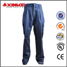 cotton/nylon material PPE fire fighting pants for men's uniform