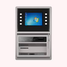 Wall-mount Recharge Banking Kiosk with AD Player