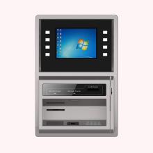 Quiosco bancario de recarga de montaje en pared con AD Player