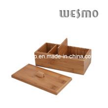 Коробка для ювелирных изделий из бамбука (WCB0351A)