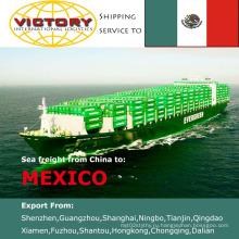 Море грузовые перевозки из Китая в Мансанильо, Прогресо, Мексика (морские перевозки)