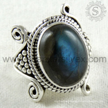 Glorious design labradorite silver ring gemstone jewelry 925 sterling silver jewellery wholesale supplier jaipur