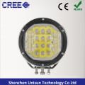 "7"" Waterproof 12V 90W 18X5w CREE LED 4X4 Driving Light"