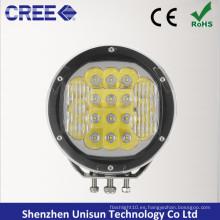 """12V / 24V 7 """"redonda 90W CREE LED 4X4 proyector para fuera de la carretera"""
