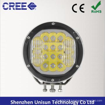 "12V/24V 7"" Round 90W CREE LED 4X4 Spotlight for off-Road"