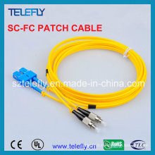Câble de communication à mode unique Sc-FC