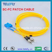 Одноканальный коммуникационный кабель Sc-FC