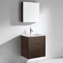 Moderno gabinete de baño de alta calidad MDF (US008)