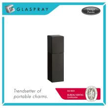 QUADRA Twist and Spray Matte Black 20ml Cartouche rechargeable Eau de Cologne Travel Spray