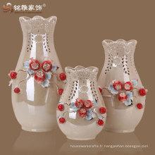 Vase à table en céramique design décoratif décoratif maison à la main