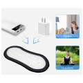 Red light therapy device panel for travel use