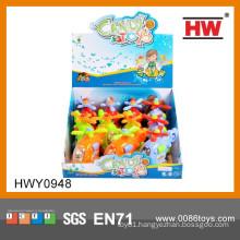 Cheap Cartoon Pull Line Plane Candy Machine Toys
