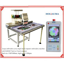 HOLiAUMA Customized Big Flat Single Head 15 Needles Computerized Embroidery Machine