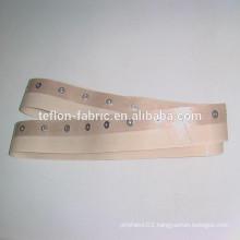 endless teflon conveyor belt with eyelet