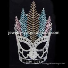 La corona más nueva del desfile de los accesorios del pelo del vintage para las ventas al por mayor indias de la joyería del pelo