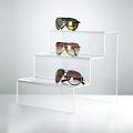 Clear Acrylic Display Schritte für die Tiered Display