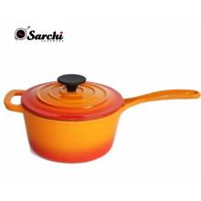 Amazon Hot Enamel Cast Iron Sauce Pan