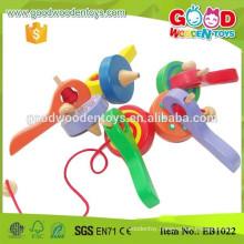 Hardwood Material Kindergarten Kids Spinning Toy