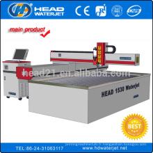 1500 * 3000mm cantilever type CNC jet d'eau de coupe de granit tuile de découpe de la machine
