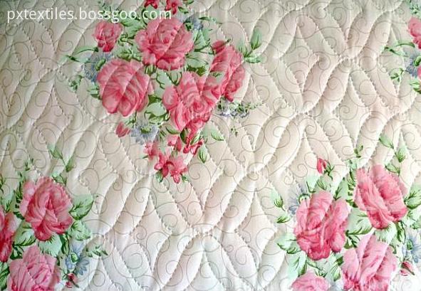 Ultrasonic Embossing Dyed Bedspread