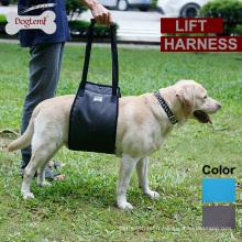 Harnais de soutien d'ascenseur de chien avec la poignée pour les personnes plus âgées ou les jambes postérieures faibles de faiblesse Harnais confortable