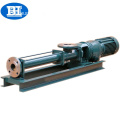 G slurry single screw pump a displacement positive pump