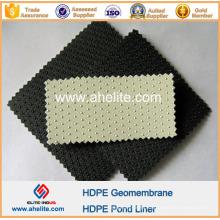 HDPE Geomembrana de ponto antiderrapante de 1 mm a 2,5 mm