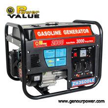 Fabrik Preis 3kw Benzin Partable 220 V Motor Generator Set