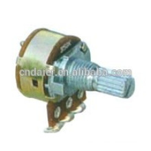 WH160AK-116mm linear rotary potentiometer with switch speed control