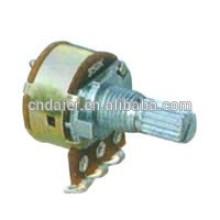 Potenciômetro rotativo linear WH160AK-116mm com controle de velocidade do interruptor