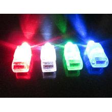 doigt led laser lumière led doigt