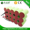 GLE personalizado alta capacidade 3000mAh 4000 mah 5000 mah nicd bateria recarregável 18 v bateria