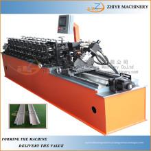 Galvanizado Drywall Usado Omega Perfil Light Gauge Steel Framing Cold Roll formando máquina