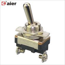 Interruptor de alavanca automotivo 120V 15A de ASW-23-101A 12MM SPST 2Pin